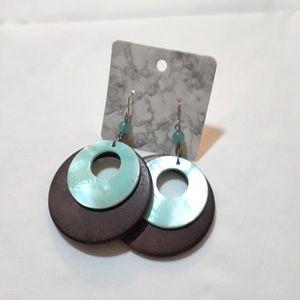 Brown Turquoise Earrings